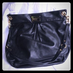 Marc by MARC JACOBS large Dr Q Hilier Hobo Black